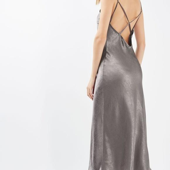 a8d5e472bf754 Topshop Dresses | Nwt Limited Edition Satin Slip Dress Sz 6 | Poshmark